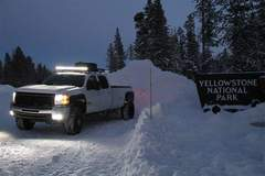 Rigid Lit Chevy HD at Yellowstone National Park