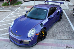 Installing XPEL ULTIMATE on this Ultraviolet Porsche GT3RS