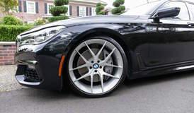 Adam's BMW M760i xDrive on Forgeline One Piece Forged Monoblock VX1 Wheels