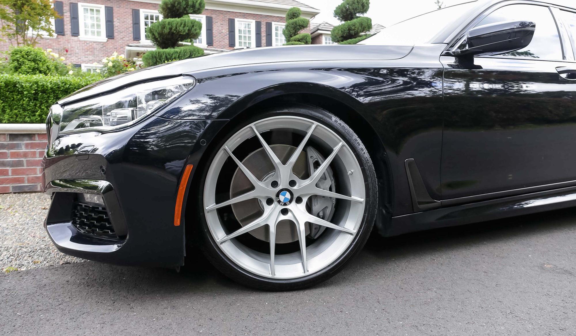 2017 BMW 7 Series | Adam's BMW M760i xDrive on Forgeline One Piece Forged Monoblock VX1 Wheels