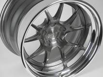 Forgeline Performance Series GA3 in Transparent Smoke
