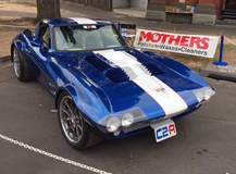 Harry Turner's C2 GS Corvette on Grip Equipped Grudge Wheels
