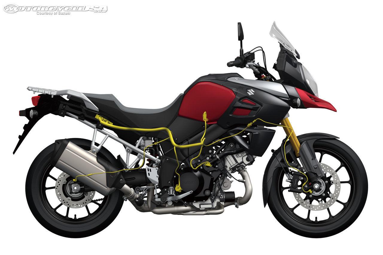 2014 SUZUKI DL1000 V STROM | First Ride : Suzuki V-Strom 1000