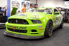 Nate Stacy's Rehagen Racing Ford Mustang Boss 302 on Forgeline 1pc Forged Monoblosk GS1R Wheels