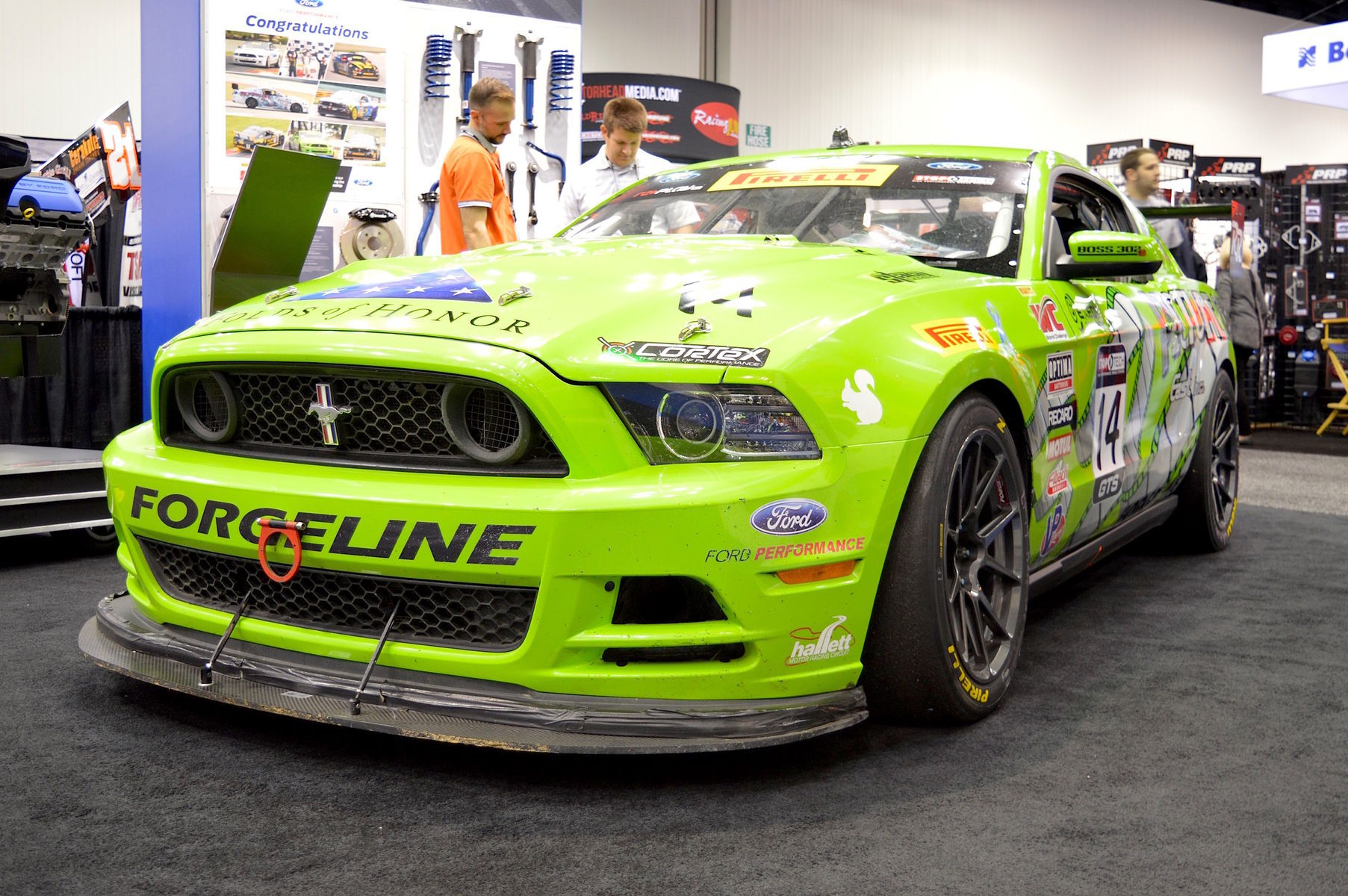 2014 Ford Mustang | Nate Stacy's Rehagen Racing Ford Mustang Boss 302 on Forgeline 1pc Forged Monoblosk GS1R Wheels