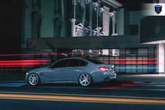 BMW M4 - Gray Rear Angle