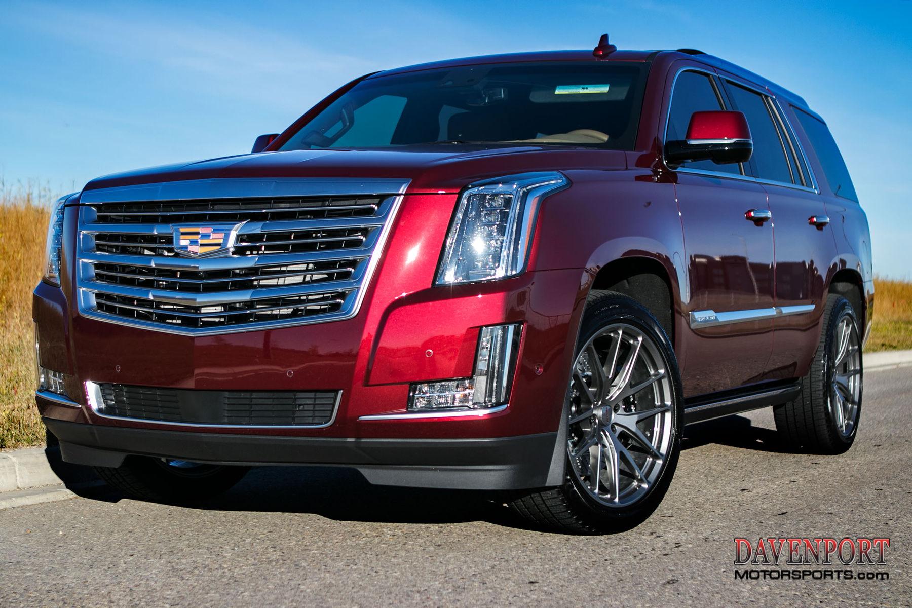 2017 Cadillac Escalade | Gord B's Davenport-Tuned Cadillac Escalade on Forgeline One Piece Forged Monoblock VX1-Truck Wheels
