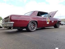 John Crouse's Skoons Hot Rods '64 Chevelle SS on Forgeline One Piece Forged Monoblock GA1R Open Lug Wheels