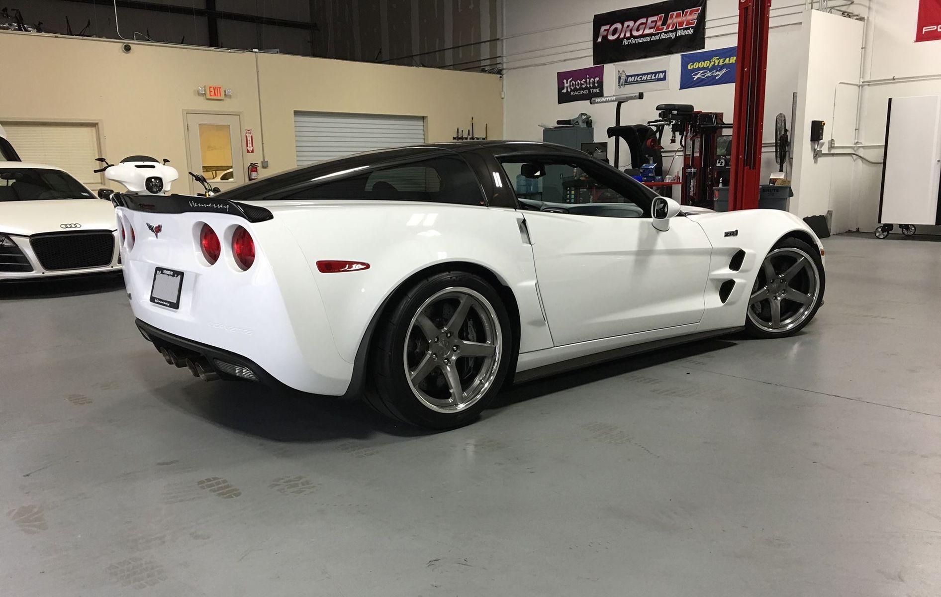 2012 Chevrolet Corvette ZR1 | Garett's Hennessey-Powered C6 Corvette ZR1 on Forgeline CF3C Concave Wheels