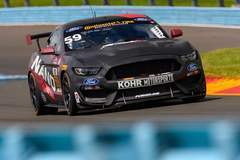 Kohr Motorsports Mustang GT4 Wins at Watkins Glen on Forgeline One Piece Forged Monoblock GS1R Wheels