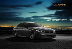 BMW M5 on Lexani CSS-16's