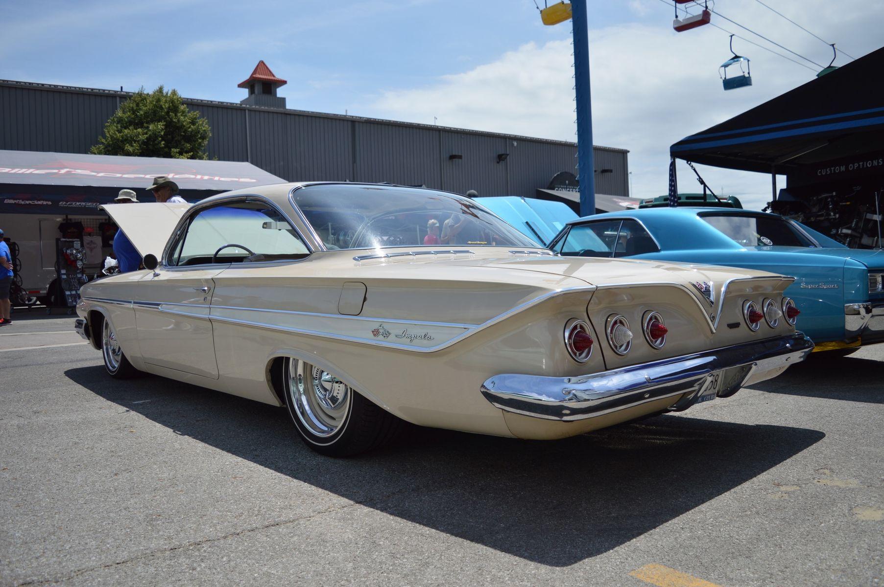 1961 Chevrolet Impala   George Poteet's Roadster Shop-Built 1961 Impala on Forgeline RS-OE1 Wheels