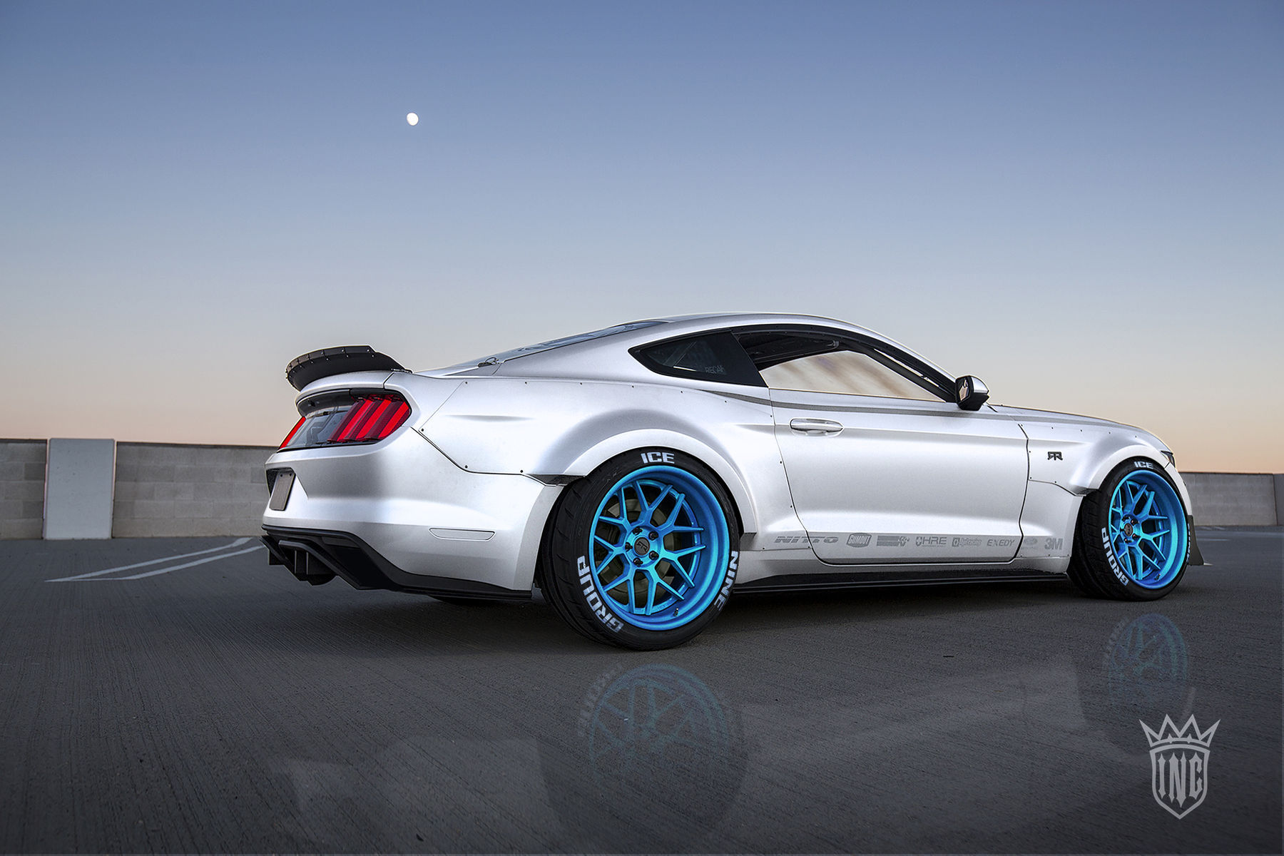 2015 Ford Mustang | '15 Ford Mustang EcoBoost by Ice Nine Group - Parking Lot Photoshoot