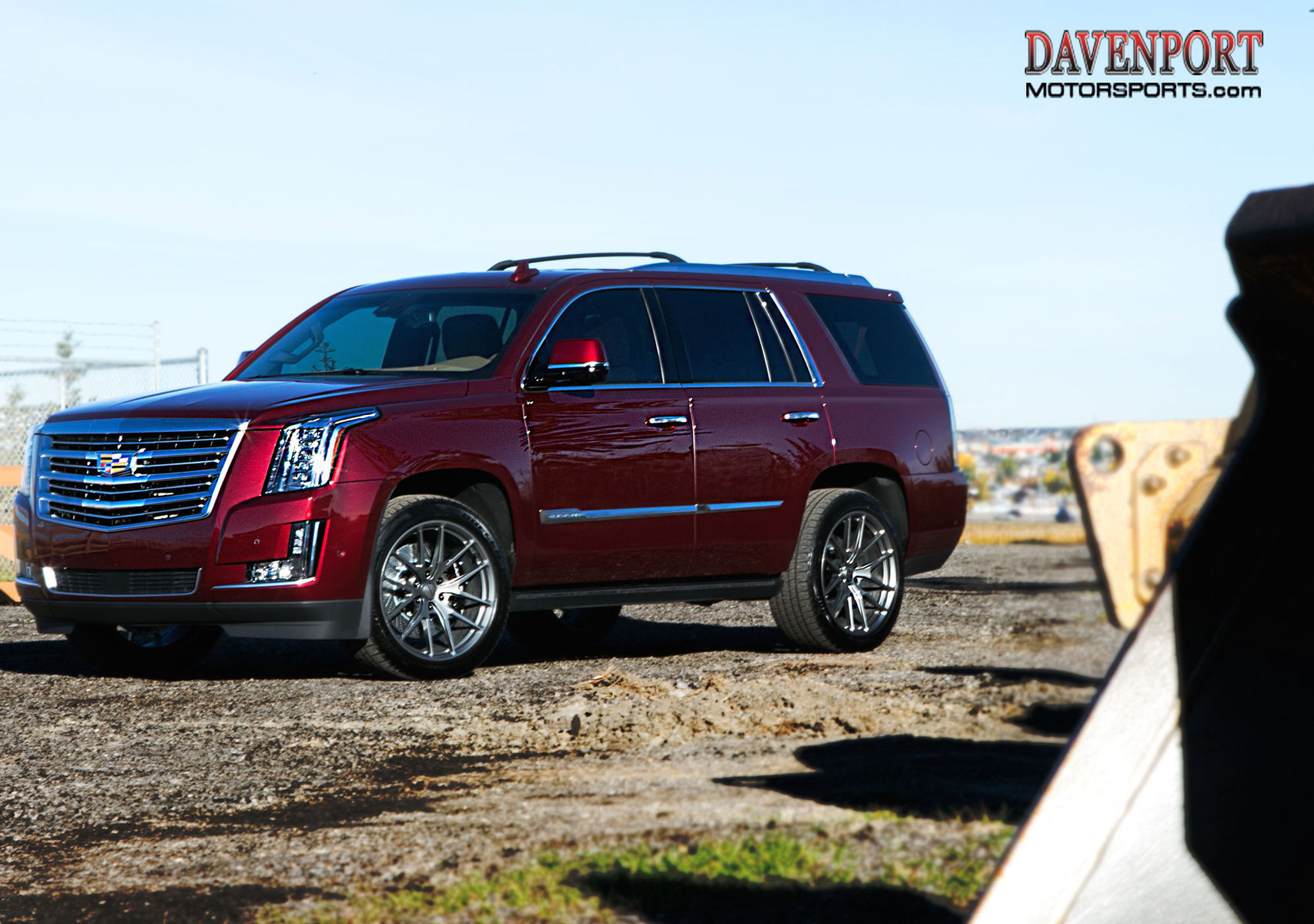 2017 Cadillac Escalade   Gord B's Davenport-Tuned Cadillac Escalade on Forgeline One Piece Forged Monoblock VX1-Truck Wheels