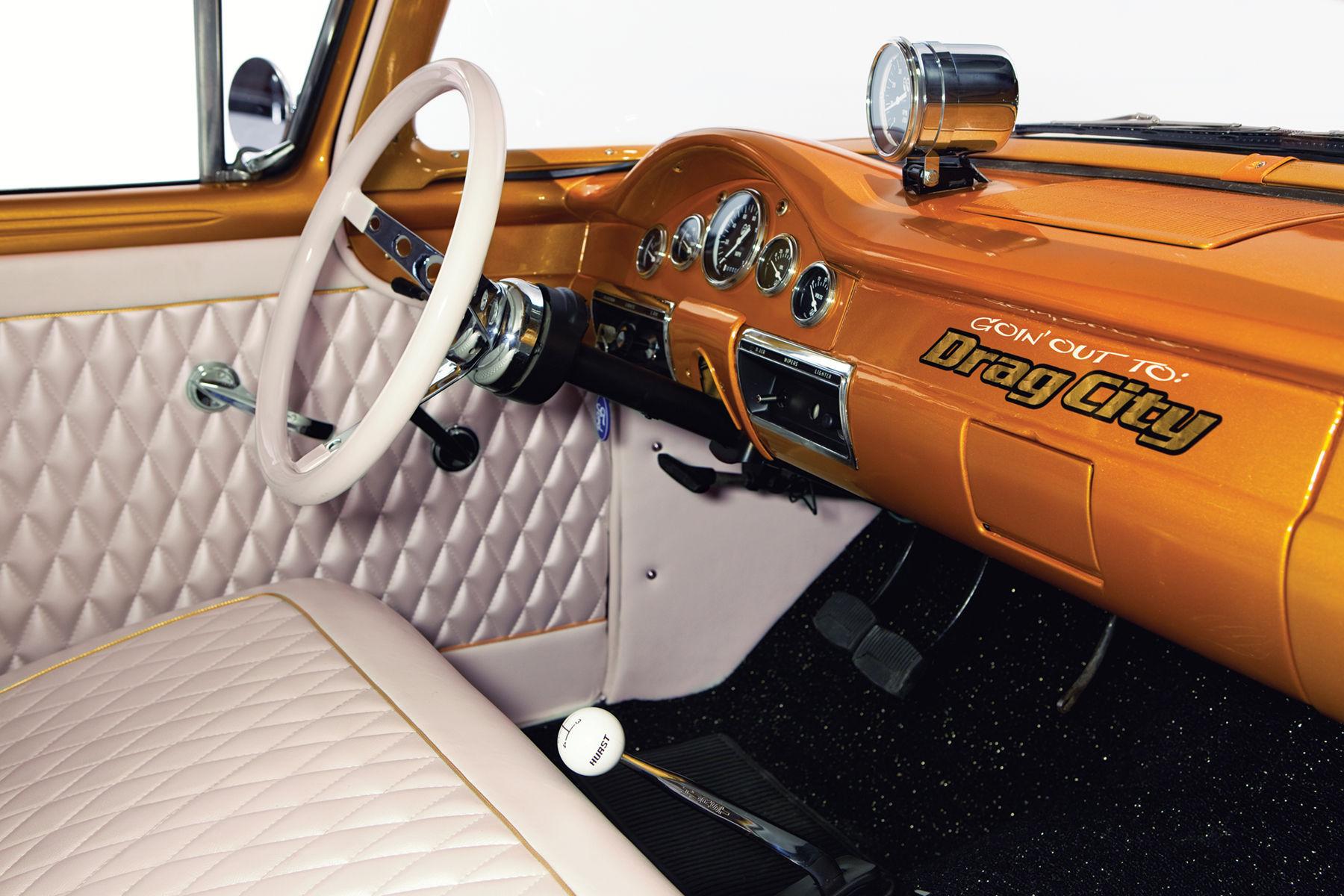 1957 Ford  | Galpin Gasser III Interior