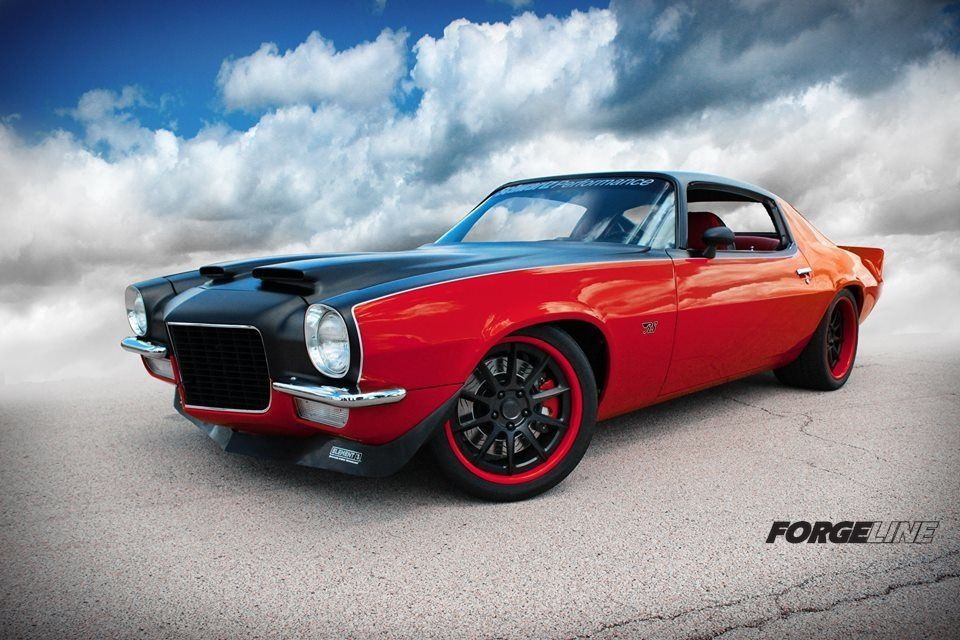 1971 Chevrolet Camaro | The Raybestos Camaro on Forgeline RB3C Wheels