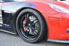 Glen Barnhouse's Procharged C6 Corvette Grand Sport on Forgeline DS3 Wheels