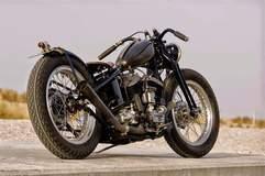 Jamesville's 1947 Harley