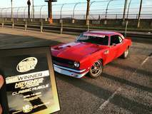 Chad Ryker's 1968 Chevy Camaro on Forgeline DS3 Wheels Wins 2016 NMCA West Autocross