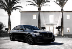 BMW 7-series on Lexani CS-10's