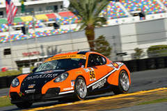 Forgeline-Equipped Porsche Caymans Dominate IMSA CTSC 2017 Season Opener at Daytona