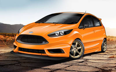 2015 Ford Fiesta ST | 2015 DSPORT Magazine Ford Fiesta ST - Rendering Image