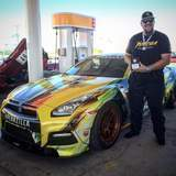 Jeff Allen Wins at the Silver State Classic Challenge in the Pennzilla Nissan GT-R on Forgeline DE3C-SL Wheels