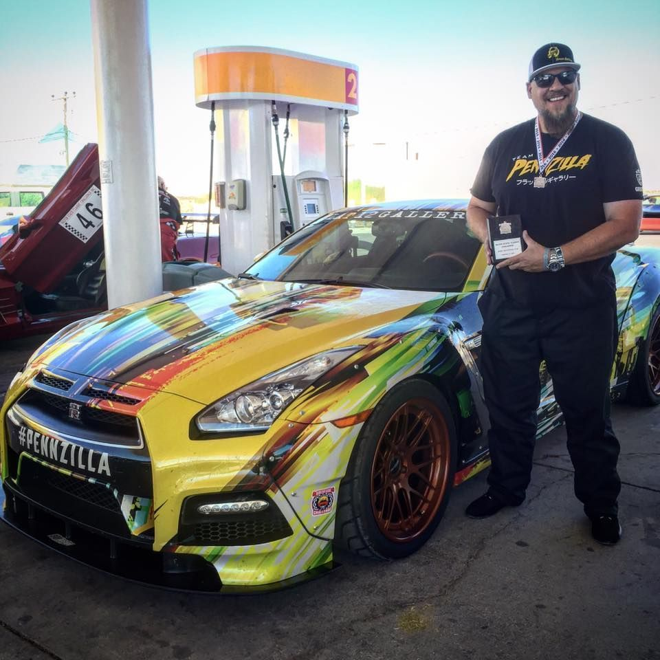 2016 Nissan GT-R | Jeff Allen Wins at the Silver State Classic Challenge in the Pennzilla Nissan GT-R on Forgeline DE3C-SL Wheels