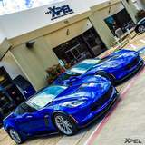 Twin Beauties, both Z06 have XPEL ULTIMATE installed