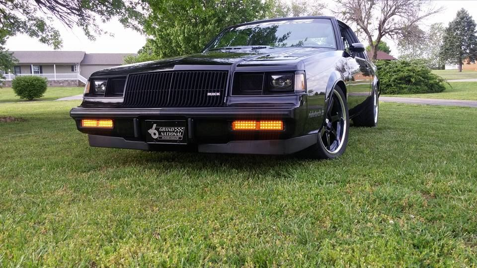 1987 Buick Grand National | Richard Townsend's 1987 Buick Grand National on Forgeline CV3C Concave Wheels