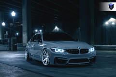 BMW M4 - Grey Front Profile