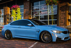 Travis Collette's F82 BMW M4 on Forgeline One Piece Forged Monoblock MT1 Wheels