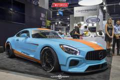 Rolloface Mercedes-Benz GTS - SEMA 2016