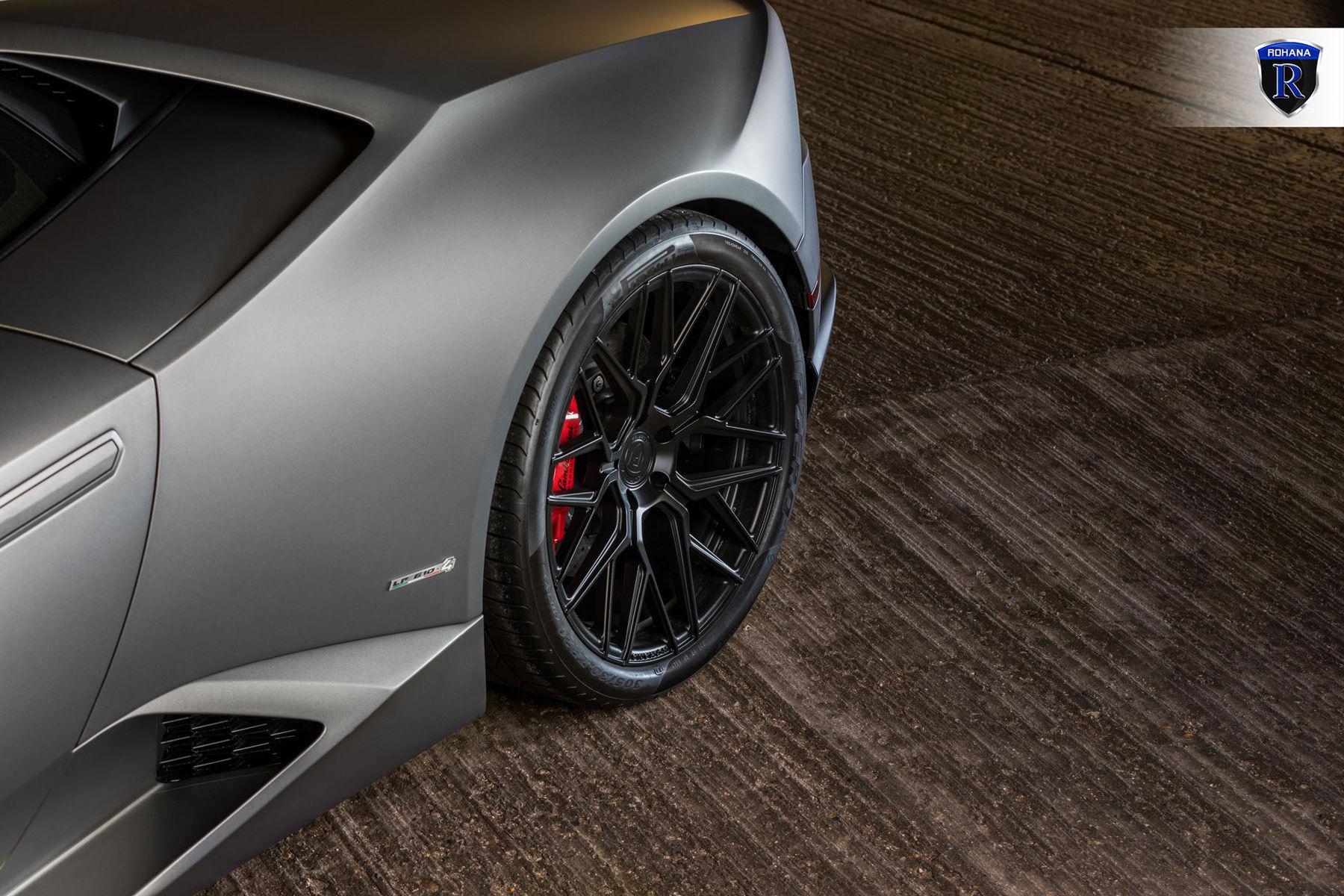 2016 Lamborghini Huracan | Matte Huracan - Spokes