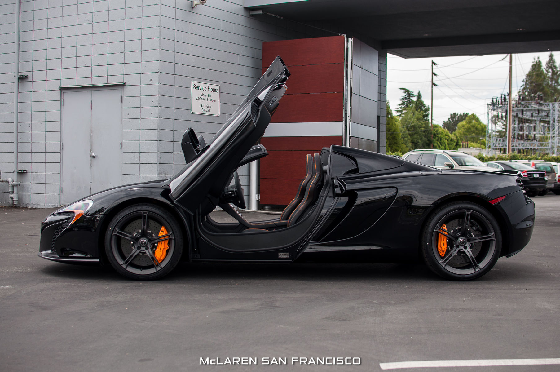2014 McLaren MP4-12C Spider | 650S 12C Spider 4098