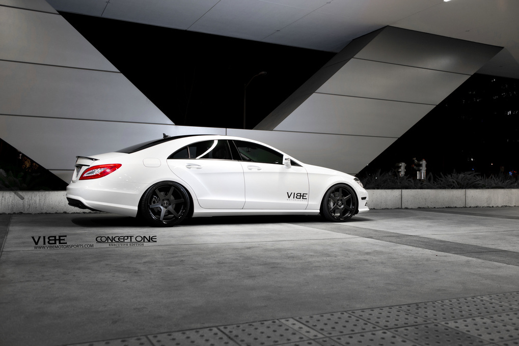 2013 Mercedes-Benz CLS-Class | 2013 Mercedes-Benz CLS550 on Concept One CS6.0's