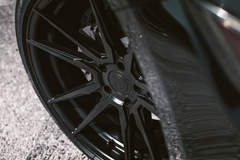 Ford Mustang - Turned Wheel