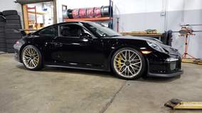 Alan Coleman's Porsche 991 GT3 on Forgeline One Piece Forged Monoblock ZH1 Centerlock Wheels