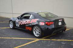 Eric Gustafson's Harrop-Supercharged Scion FR-S on Forgeline One Piece Forged Monoblock GS1R Wheels