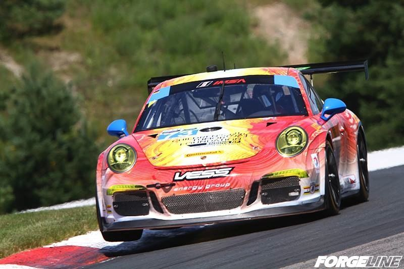 2014 Porsche 911 | Park Place Motorsports #73 GTD Porsche on Forgeline GTD1 Wheels 2nd at Mosport