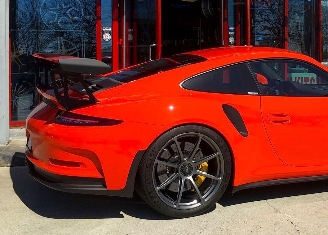 2016 Porsche 911 | Seth Thomas' Porsche 991 GT3 RS on Forgeline One Piece Forged Monoblock GE1 Centerlock Wheels