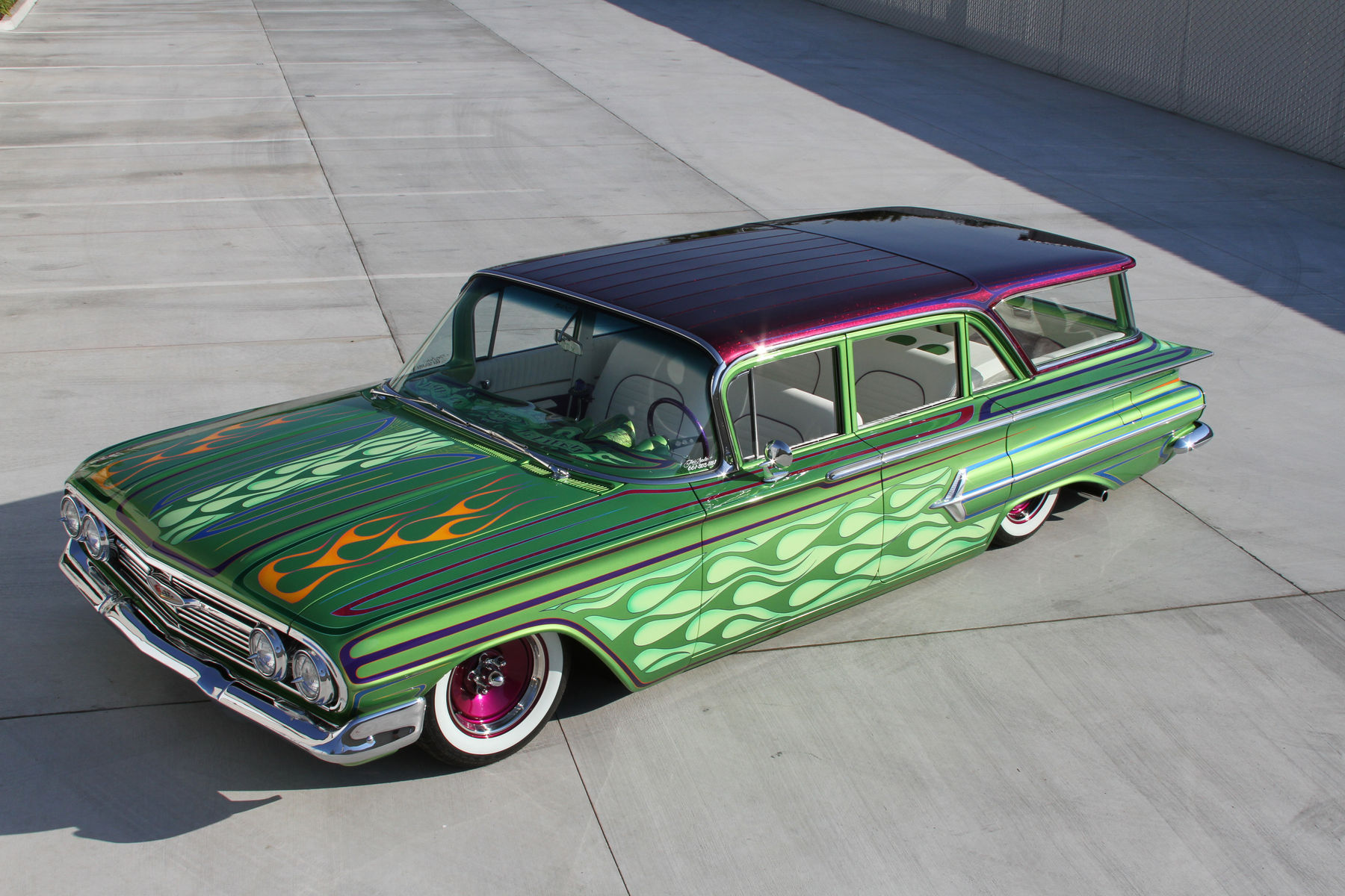 1958 Chevrolet  | Rob's '58 Nomad Wagon