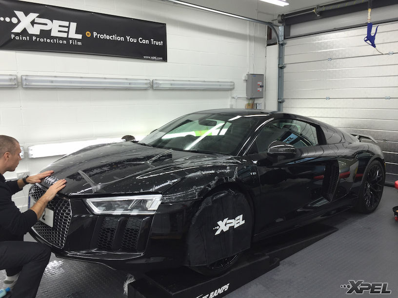 Audi R8 | XPEL ULTIMATE paint protection film applied for ultimate protection