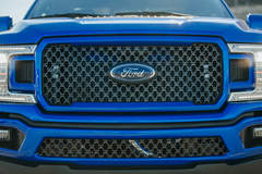 2018 Ford F-150 4x2 SuperCab by ZB Southern Ground/Kurt Busch - ZB Grille FordSEMA