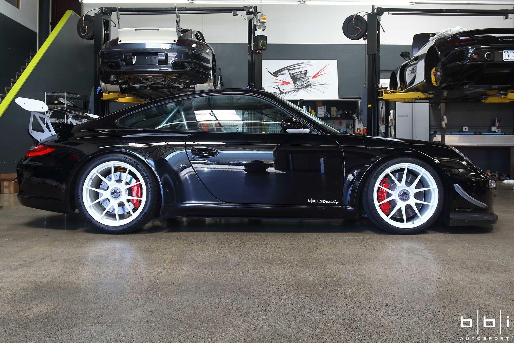2010 Porsche 997 | BBi Autosport's Porsche 997.2 GT3 Street Cup on Forgeline One Piece Forged Monoblock GA1R Wheels