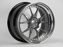 Forgeline GA3 with Midnight Silver Center, Polished Outer, and Optional Exposed Hardware