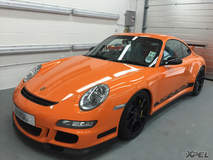 Porsche GT3RS protected with XPEL ULTIMATE