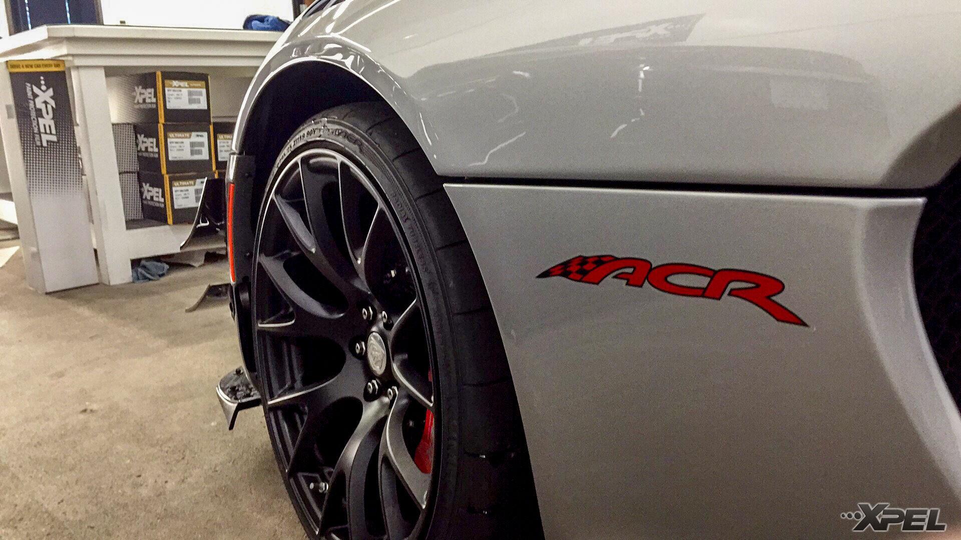 2016 Dodge SRT Viper | ACR Dodge Viper with XPEL ULTIMATE