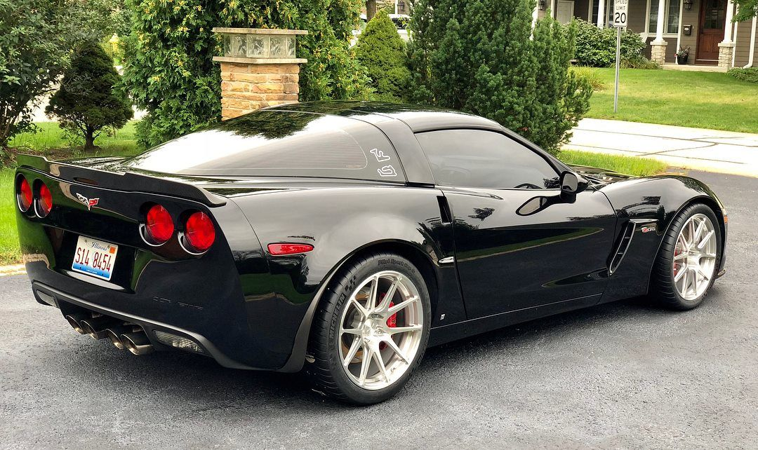 2009 Chevrolet Corvette Z06 | Ryan's C6 Corvette Z06 on Forgeline One Piece Forged Monoblock GS1R Wheels