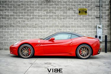 "2015 Ferrari California | Ferrari California on 20"" Ferrada F8 FR5 Wheels - Pacific Coast Highway"